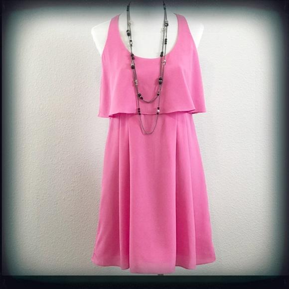Jessica Simpson Sleeveless Pleated Dress Sz 6 NWT